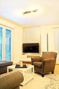 Posezení v ubytování Apartments New Karolina Superior
