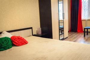 Кровать или кровати в номере Апартаменты Городской Вал 14