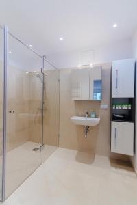 Koupelna v ubytování BestVienna U1 Kagran/DZ