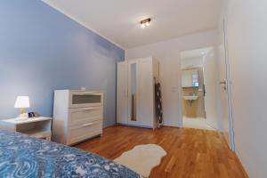 TV a/nebo společenská místnost v ubytování BestVienna U1 Kagran/DZ