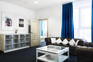 Гостиная зона в Отель Каскад