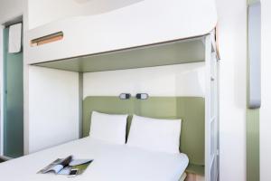 Cama o camas de una habitación en ibis budget Leeds Centre Crown Point Road