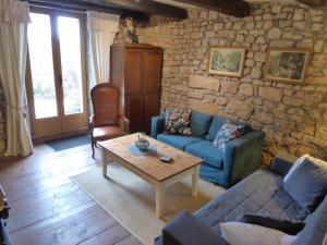 Een zitgedeelte bij La Maison Chouette