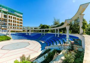 The swimming pool at or near Health Resort Akvamarin