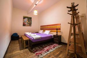 Cama o camas de una habitación en Gaia House