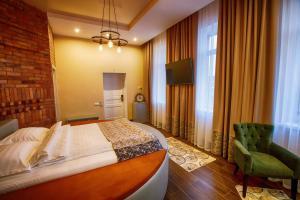 Кровать или кровати в номере Villa Da Vinci