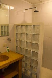 A bathroom at Villas KM5