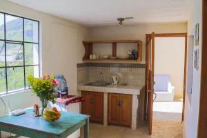 A kitchen or kitchenette at Villas KM5