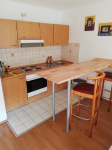 Küche/Küchenzeile in der Unterkunft Hotel Ideal