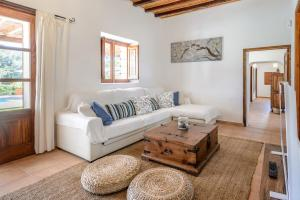 A seating area at Villa Can Torres