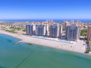 A bird's-eye view of La Manga Beach Club Apartments