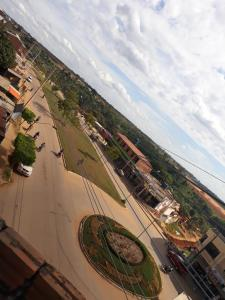 A bird's-eye view of Amazonia Hotel