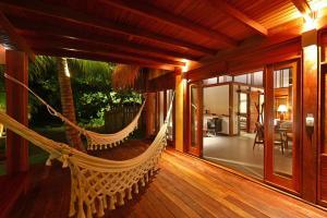 Uma varanda ou terraço em Camurim Grande