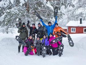 Skandi Camp during the winter