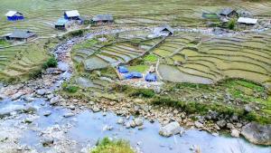 A bird's-eye view of Xu Xu Homestay Lao Chai