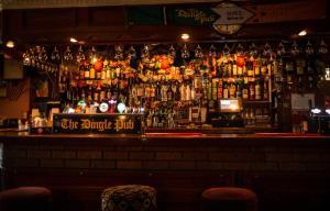 The lounge or bar area at The Dingle Pub B&B