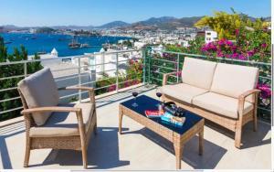Balcone o terrazza di Bodrum Vista Suites