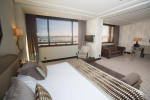 Zona de estar de Hotel Bahía