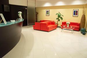 Hall o reception di Santa Lucia Hotel