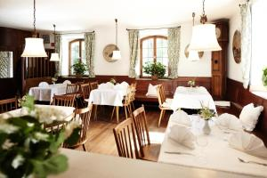 A restaurant or other place to eat at Hotel Burgmeier