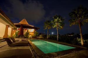 Der Swimmingpool an oder in der Nähe von Kampung Canggu
