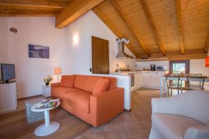 Area soggiorno di Borgo La Sorgente - Tulipano