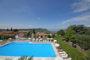 A view of the pool at Appartamenti San Carlo or nearby