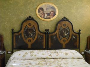 Letto o letti in una camera di B&B Silent Valley