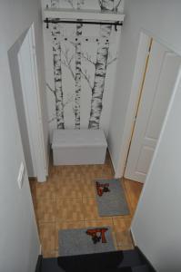 Kúpeľňa v ubytovaní Apartmány CENTRUM