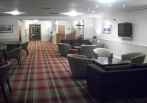 The lounge or bar area at Dunollie Hotel 'A Bespoke Hotel'