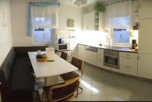 Küche/Küchenzeile in der Unterkunft Ferienhaus Ringelwiese