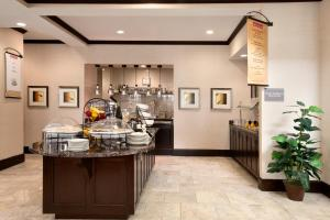 A restaurant or other place to eat at Hilton Garden Inn New Braunfels
