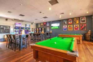 A pool table at Nightcap at Wanneroo Tavern