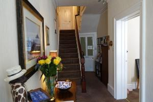 A seating area at Chilterns Guest House