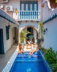 The swimming pool at or near Casa Heredia Boutique By GB Collection