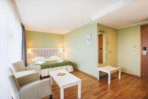 Voodi või voodid majutusasutuse Hotel Jurmala Spa toas