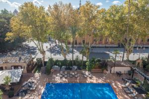 A view of the pool at Hotel Alfonso XIII, a Luxury Collection Hotel, Seville or nearby