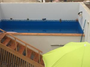 A balcony or terrace at Departamentos Playa San Bartolo