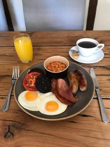 Breakfast options available to guests at Kings Head Bawburgh