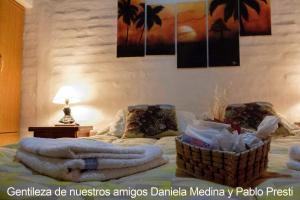 A seating area at Villa El Refugio