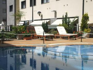 The swimming pool at or near Hotel & Spa Real Jaca