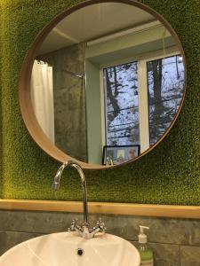 A bathroom at Apartment Zebra