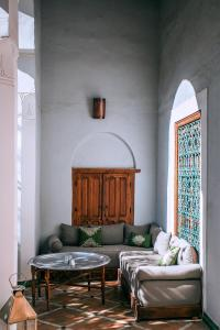 Гостиная зона в Riad Le Rihani