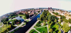 A bird's-eye view of Aparthotel Stora Antis
