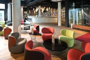The lounge or bar area at Boutique Hotel i31 Berlin Mitte