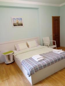 Кровать или кровати в номере Guest house Citrus