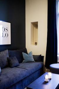 Coin salon dans l'établissement Forenom Serviced Apartments Oslo Royal Park