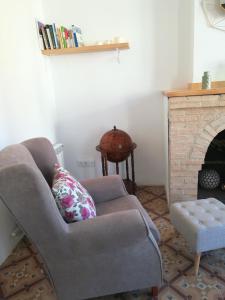 Zona de estar de Casa Font