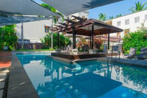 The swimming pool at or near Luxury Penthouse 5 or 6 BDR 3 or 4 Bath Twin Rain Showers 400 sq mtrs