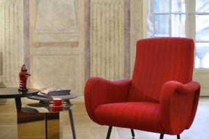 Ein Sitzbereich in der Unterkunft Hotel Palazzo Grillo